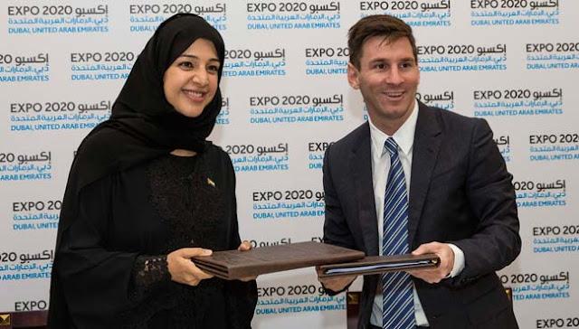 Messi, embajador global de la Expo de Dubai 2020