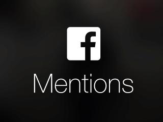 تحميل تطبيق facebook mentions للاندرويد و الايفون للمشاهير مجانا 2018