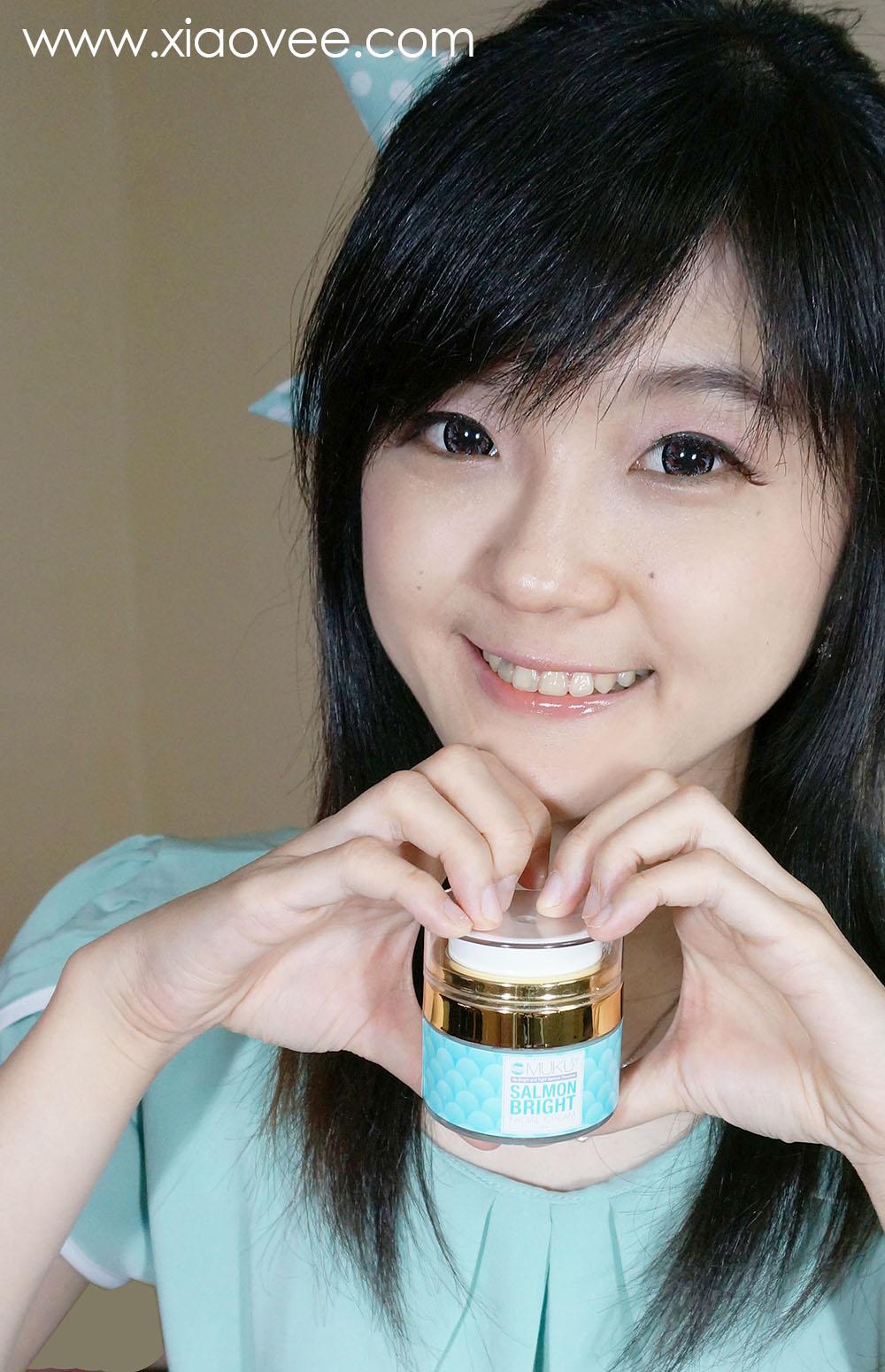Salmon Bright Facial Cream by MUKU