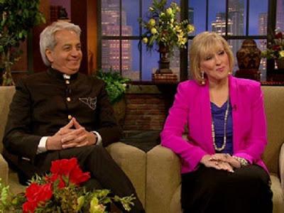 Benny Hinn junto a su ex esposa Suzanne en entrevista
