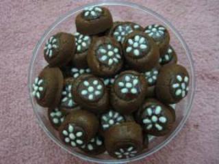 Resep Kue Kering Lebaran Terbaru 2017 Dan Gambarnya : Kacang Tanah Cokelat Chip Moka Enak