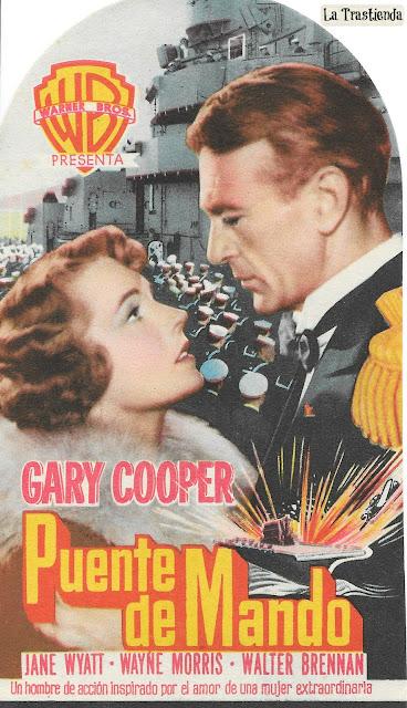 Puente de Mando - Programa de Cine - Gary Cooper - Jane Wyatt