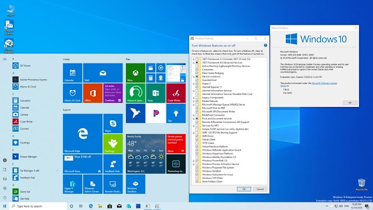 Microsoft Rilis Windows 10 Insider Preview Build 18305 Ke Fast Ring