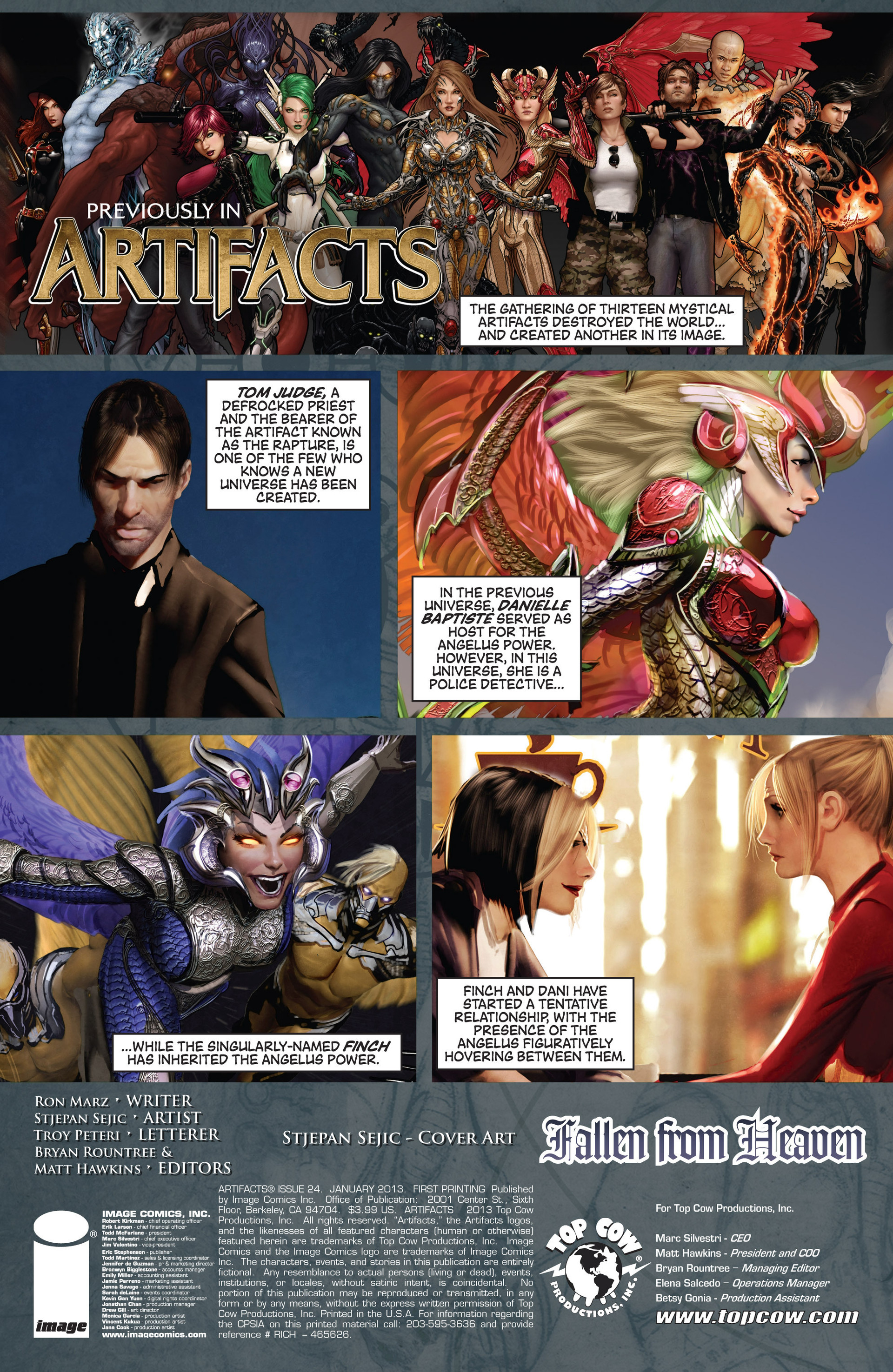 Read online Artifacts comic -  Issue #24 - 3