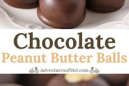 Chocolate Peanut Butter Balls (Buckeye Candy)