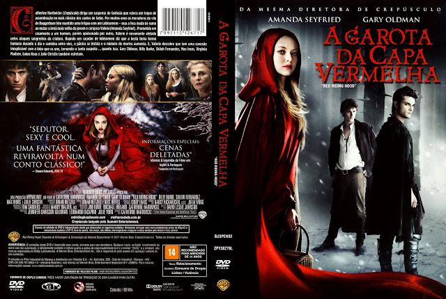 Capa DVD A Garota da Capa Vermelha