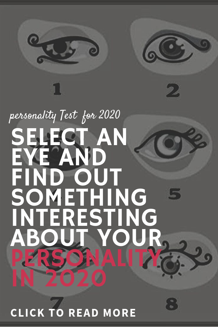 Select An Eye And Find Out Something Interesting About Your Personality In 2020