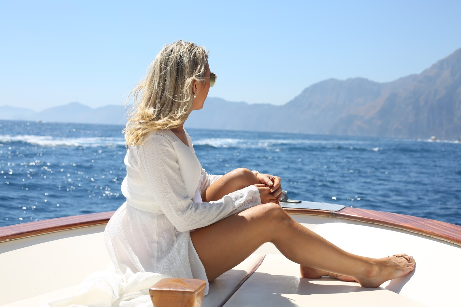 Amalfi coast from the water