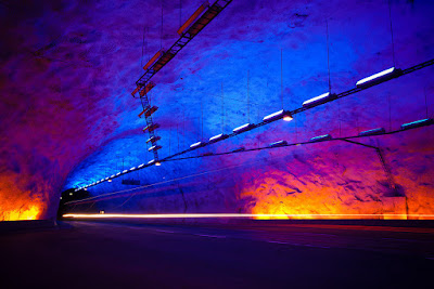 The Lærdal Tunnel, Norway