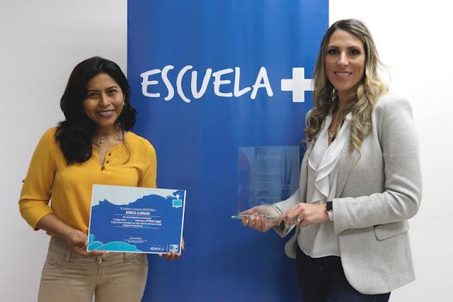 Escuela+ premió a maestra con viaje al II Congreso Iberoamericano de TV y Educación
