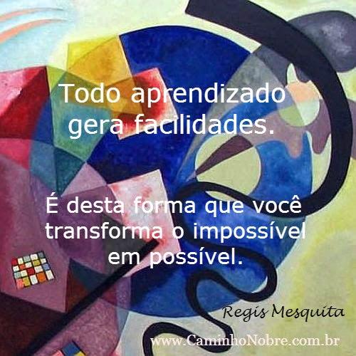 Transforme o impossível em possível através do aprendizado e da ousadia.