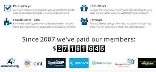 pembayaran%2Bclixsense Tampilan baru dari ClixSense situs penghasil uang terbaik