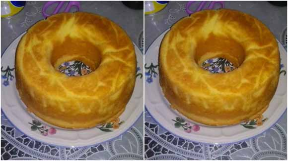 Cake Tapai, Resepnya Aku Pakai Resep Pak Sahak, Hasilnya Lembut Banget, Ueeenak Pastinya