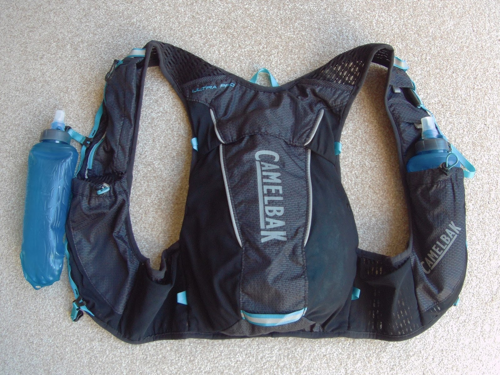 d6da7ceb66 I became very interested earlier this year when I noticed that Camelbak had  produced a minimalist race vest designed for use with soft flasks, the Ultra  Pro ...
