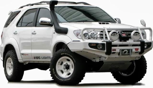 Modifikasi Toyota Fortuner Bergaya Off Road Paling Keren ...