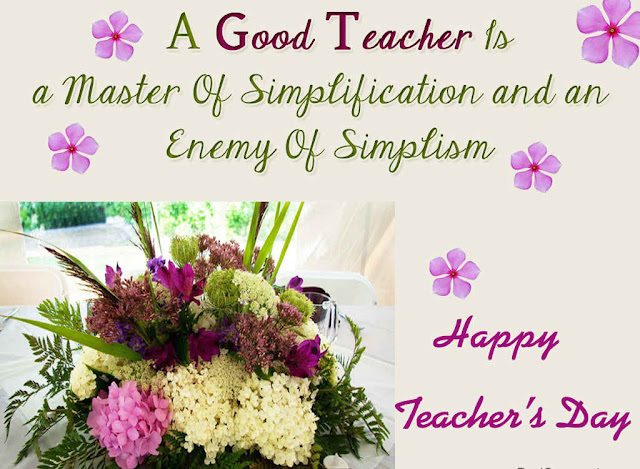 Happy Teachers Day Animated Picture