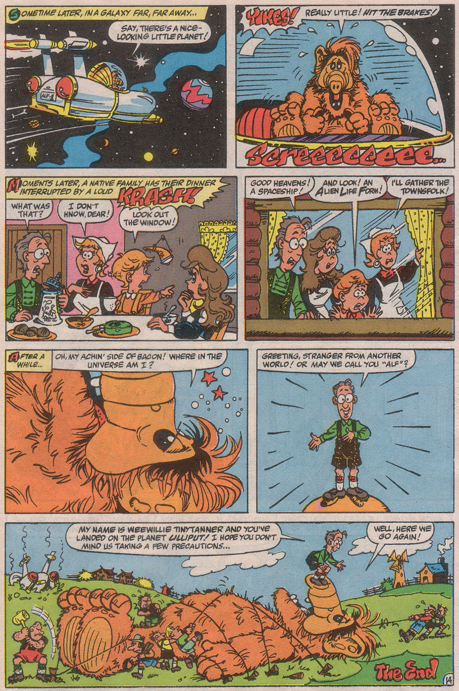 Read online ALF comic -  Issue #36 - 20