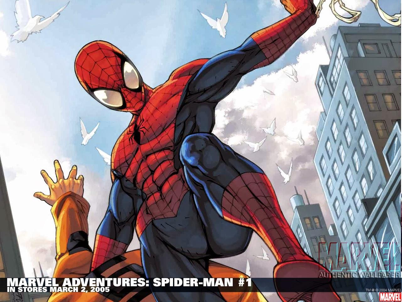 Fondos De Pantalla HD: Fondo De Pantalla Marvel Adventures