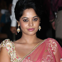 Actress bindhu madhavi in pink saree photos