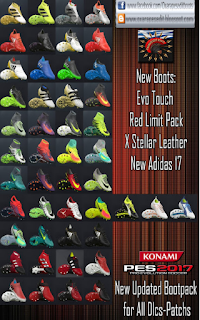 Bootpack ALL DLC PES 2017