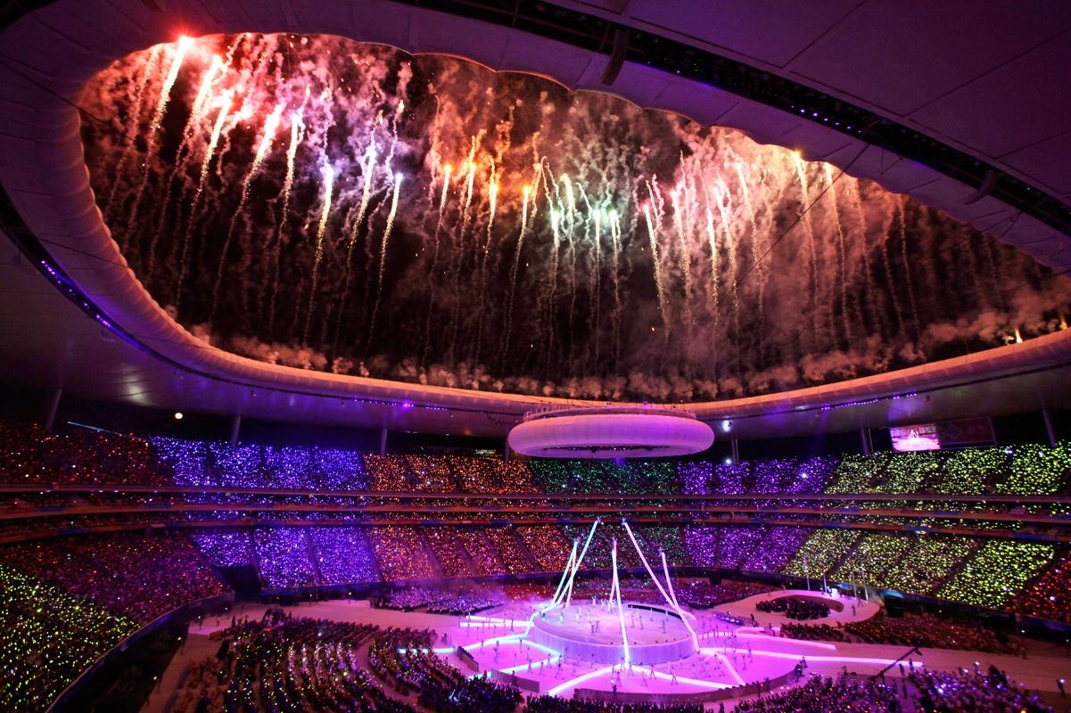 La Inauguracion de los Juegos Panamericanos Guadalajara 2011.
