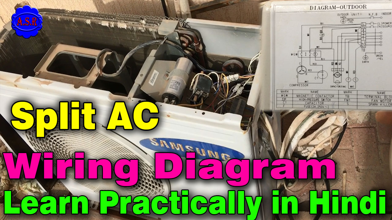 this video making for learning new technican samsung split ac out door wiring diagram practically video making for learning open this link watch online full  [ 1280 x 720 Pixel ]
