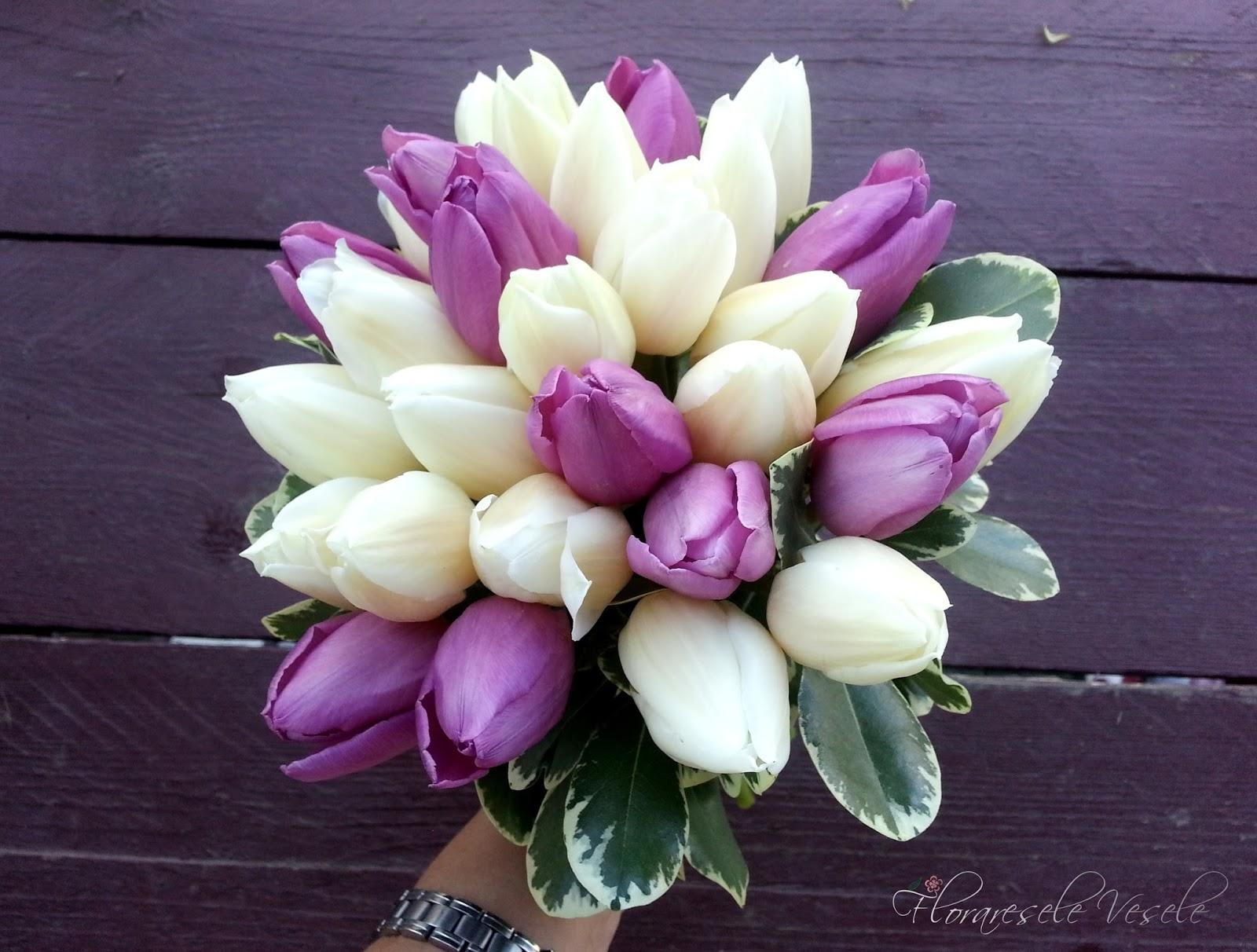 Floraresele Vesele Aranjamente Florale Din Lalele 12072014