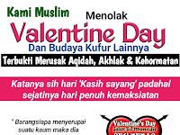 "Budaya ""Valentine's Day""..Budaya Penyesatan Aqidah.."