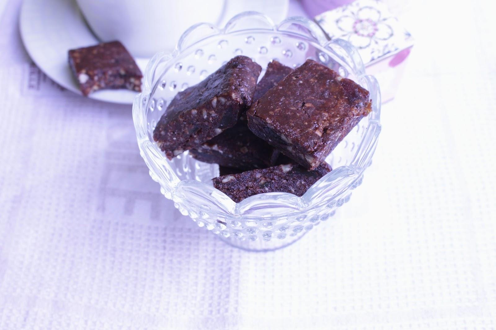 raw brownies