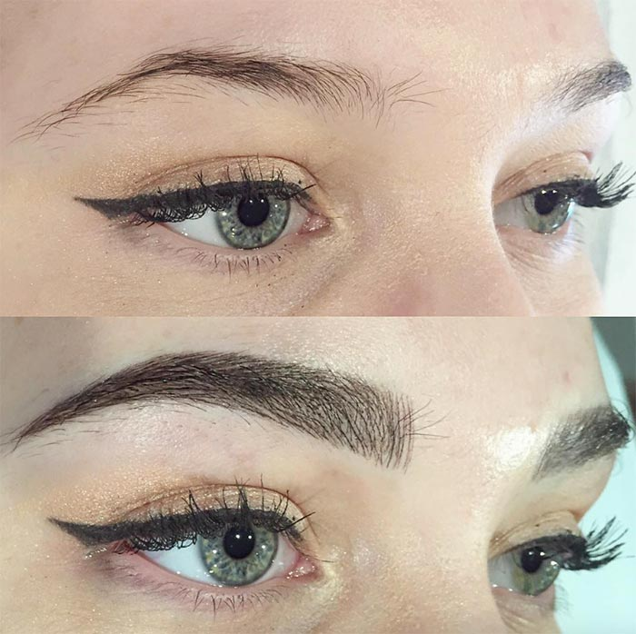 Eyebrow Embroidery A New Stylish Trend In The Market Browart