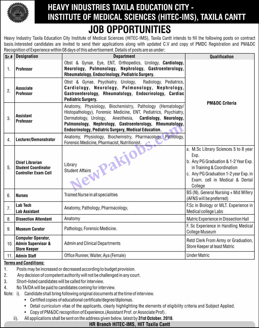 Jobs-in-Heavy-Industries-Taxila-Education-City-today-24-Oct-2018