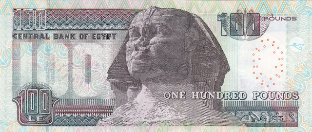 Egypt 100 Pounds banknote 2013 Sphinx|World Banknotes & Coins Pictures | Old Money, Foreign ...
