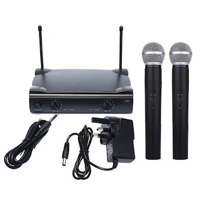 Microfphone Wireless SHURE UT4 Type Murah