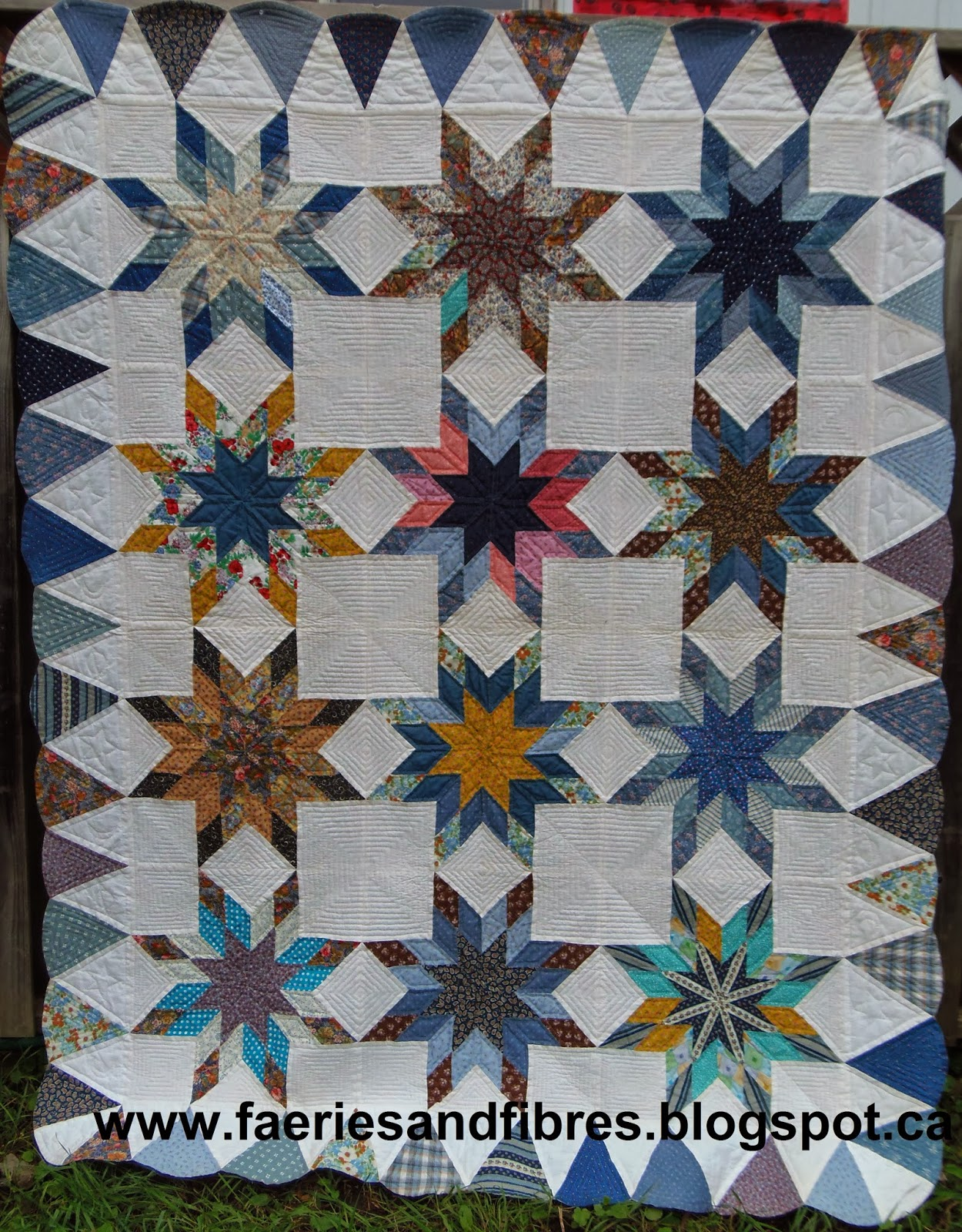 Faeries And Fibres Gallery Of Completed Quilts