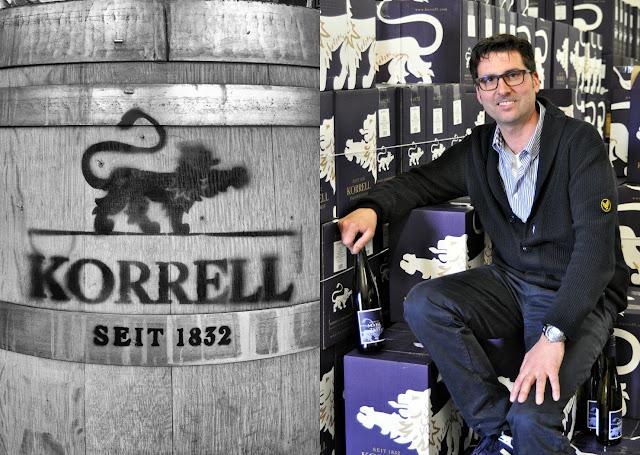 Winzer Martin Korrell vom Weingut Korrell Johanneshof an der Nahe