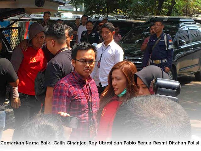 Cemarkan Nama Baik, Galih Ginanjar, Rey Utami dan Pablo Benua Resmi Ditahan Polisi