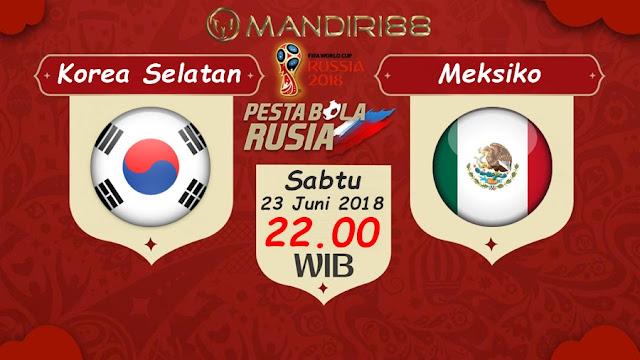 Prediksi Korea Selatan Vs Meksiko, Sabtu 23 Juni 2018 Pukul 22.00 WIB @ Trans TV