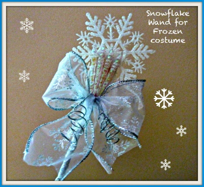 How to make Frozen Princess Wands for Dress Up and Halloween