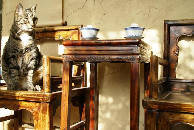 table chinoise pour le thé