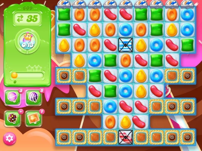 Candy Crush Jelly Saga level 609