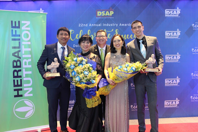 Herbalife Nutrition Shines at the Direct Selling Association of the Philippines Industry Awards