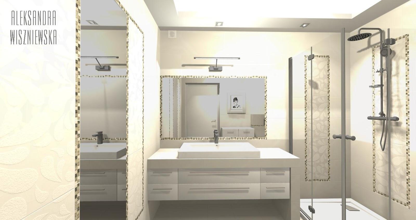 Projekty łazienek Wizualizacje Paradyż Baletiaarole