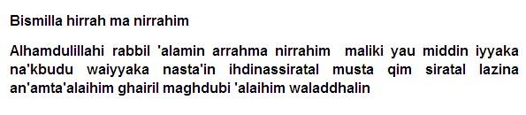 Amalan Doa Pengasihan Mustajab Dengan Surat Al Fatihah