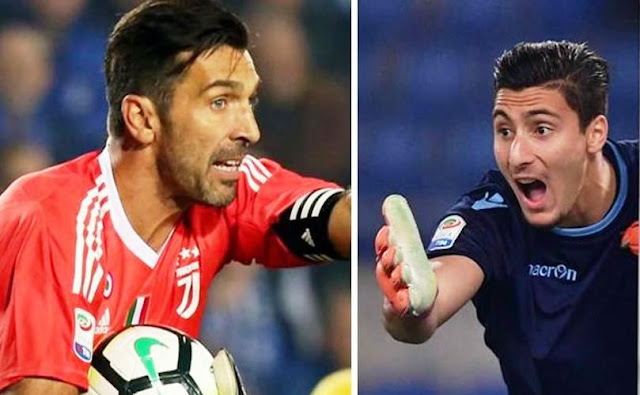 Buffon and Strakosha