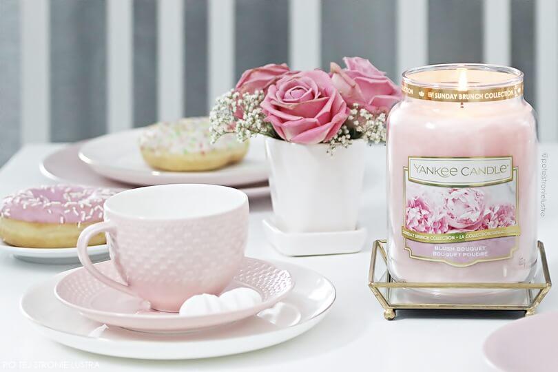 yankee candle blush bouquet blog recenzja