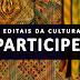 Inscrições abertas para editais culturais