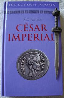 Portada del libro César imperial, de Rex Warner