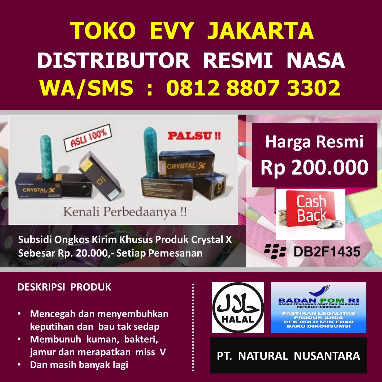 Toko Evy Jakarta Wa 0812 8807 3302 Crystal X Crytal Cristal New Manfaat