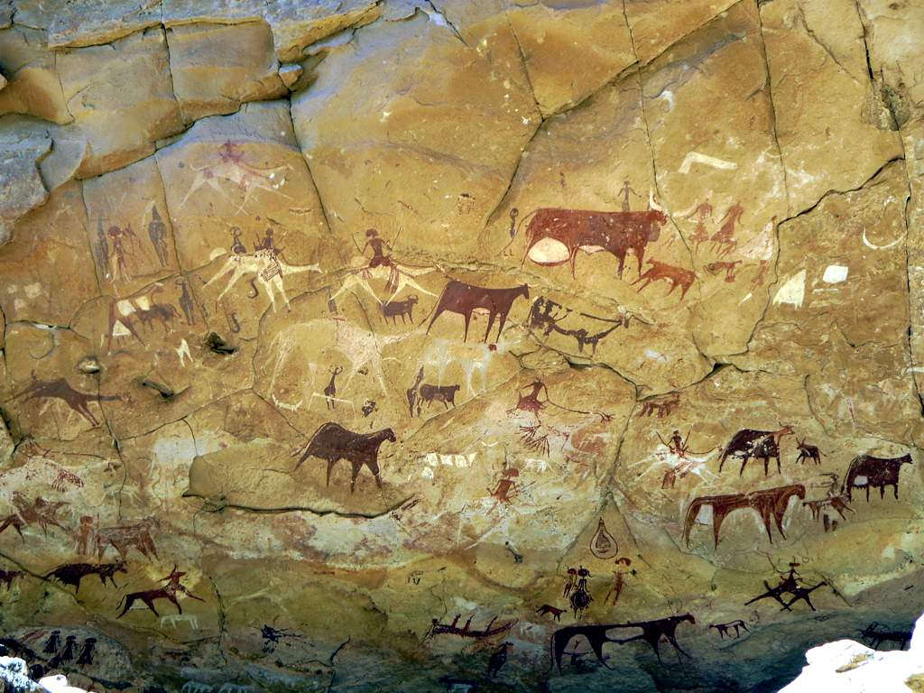 Tourists damaging Chad cave paintings at world heritage site