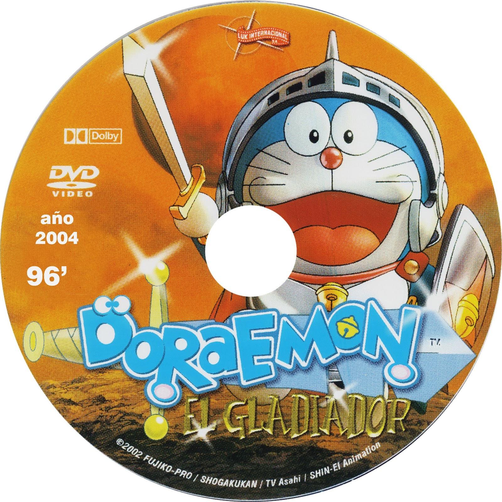 Caratulas De Películas DVD Para Cajas CD: Doraemon El